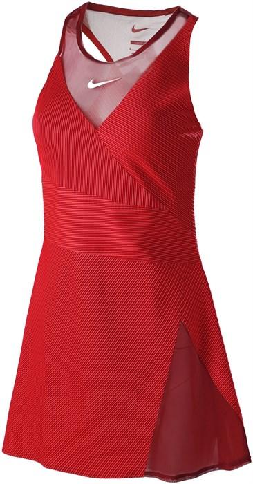 Платье женское Nike Naomi Osaka Red/White  DB3812-677  fa21 - фото 24741