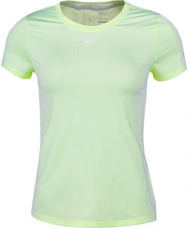 Футболка женская Nike One Dri-Fit Lime Ice/White  DD0626-303  su21 - фото 24766
