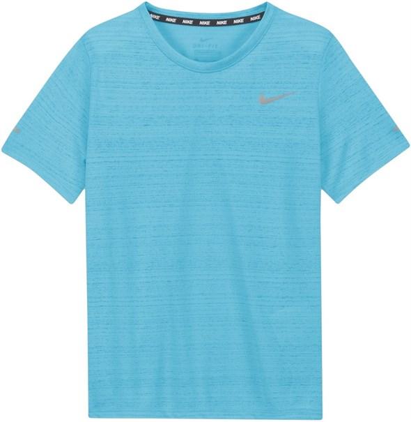 Футболка для мальчиков Nike Dri Fit Miler Chlorine Blue  DD3055-447  fa21 - фото 24784