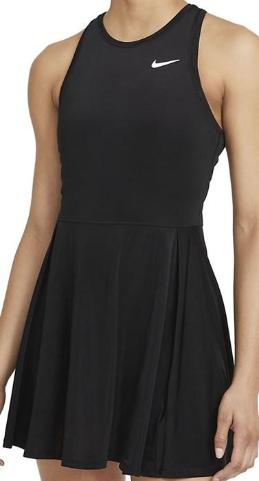 Платье женское Nike Court Dri Fit Advantage Black/White  CV4692-011  fa21 - фото 24803