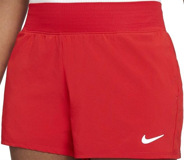 Шорты женские Nike Court Flex Victory 2 Inch Red/White  CV4817-657  fa21 - фото 24808