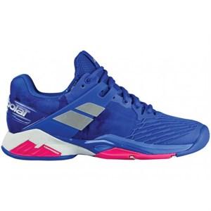 Кроссовки женские Babolat Propulse Fury All Court Blue/Pink  31S18477-4027