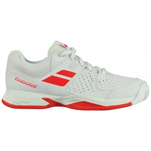 Кроссовки детские Babolat Pulsion All Court White/Red  32S18482-1017