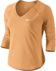 Футболка женская Nike Court Pure 3/4 Sleeve  728791-843  su18