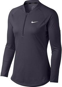 Футболка женская Nike Court Dry 1/2 Zip  888170-009  fa18