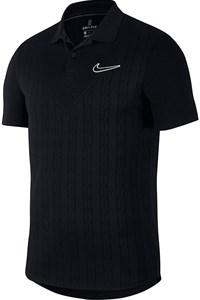 Поло мужское Nike Court Advantage Black  AT4146-010  fa19