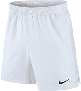 Шорты мужские Nike Court Dry 7 Inch White/Black  830817-101  sp18