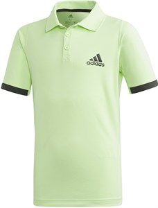 Поло для мальчиков Adidas New York Green/Carbon  EC3033  fa19