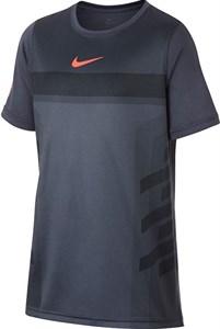 Футболка для мальчиков Nike Court Legend Rafa Light Carbon/Hyper Crimson  AO2959-011  fa18