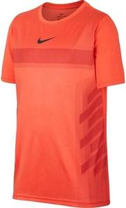 Футболка для мальчиков Nike Court Legend Rafa Orange  AO2959-809  fa18