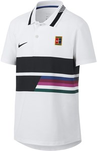 Поло для мальчиков Nike Court Advantage Classic White  AR2381-100  sp19