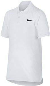 Поло для мальчиков Nike Court Advantage White  AO8353-100  su18