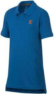 Поло для мальчиков Nike Court Heritage Blue  AQ0962-486  fa18