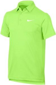 Поло для мальчиков Nike Court Dry Ghost Green  844311-367  su17