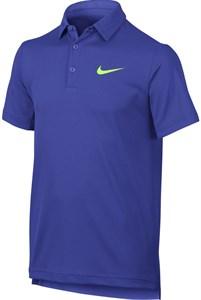 Поло для мальчиков Nike Court Dry Blue/Light Green  844311-452 su17