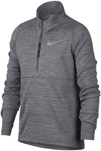 Футболка для мальчиков Nike Half-Zip Running Grey  939559-036  fa18