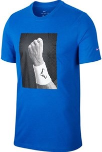 Футболка мужская Nike Court Dry Rafa Blue  CJ0432-480  ho19
