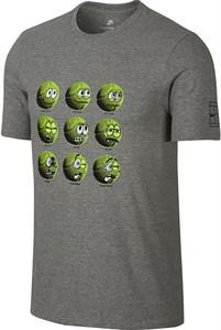 Футболка мужская Nike Court Tennis Balls Grey  AA0843-063  sp18