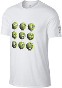 Футболка мужская Nike Court Tennis Balls White  AA0843-100  sp18
