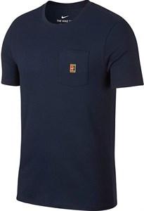 Футболка мужская Nike Court Heritage Pocket Navy  943189-451  sp18