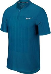 Поло мужское Nike Court Zonal Cooling Advantage Green Abyss  888211-301  su18