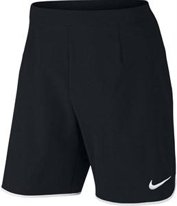 Шорты мужские Nike Court Gladiator Flex 9 Inch Black/White  728980-010   ho16