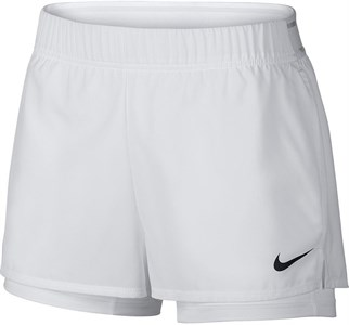Шорты женские Nike Court Flex White/Black  939312-100  fa19