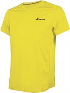 Футболка мужская Babolat Core Flag Club Blazing Yellow  3MS18011-7000