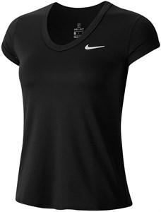 Футболка женская Nike Court Dry Black/White  CQ5364-010  sp20