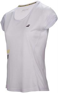 Футболка для девочек Babolat Core Flag Club White  3GS17011-101
