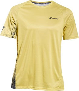 Футболка для мальчиков Babolat Perfomance Crew Neck Dark Yellow/Black  2BS19011-7007