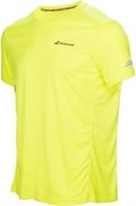 Футболка для мальчиков Babolat Core Flag Club Yellow  3BS17011-243