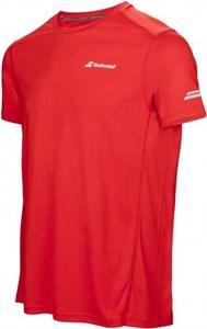 Футболка для мальчиков Babolat Core Flag Club Red  3BS17011-201