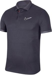 Поло мужское Nike Court Breathe Advantage Gridiron/Off Noir  BV0780-015  sp20