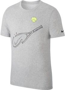 Футболка мужская Nike Court Graphic Dry Dark Grey  CQ2416-063  sp20