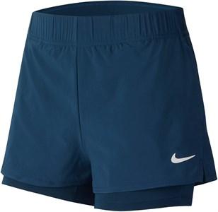 Шорты женские Nike Court Flex Valerian Blue/White  939312-432  sp20