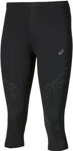 Бриджи женские Asics Stripe Knee Tight Black  121335-0905  su17