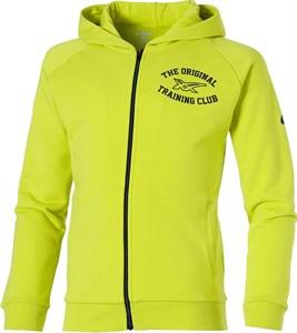 Толстовка для мальчиков Asics Full Zip Neon Lime  130910JR-0416  su16