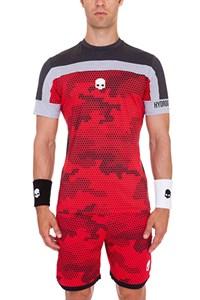 Футболка мужская Hydrogen Tech Camo Red  T00126-C28