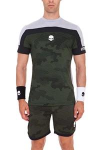 Футболка мужская Hydrogen Tech Camo Green  T00126-445
