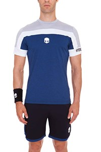 Футболка мужская Hydrogen Tech Skull Grey/Blue  T00125-B39