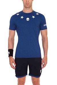 Футболка мужская Hydrogen Tech Stars Blue  T00121-018