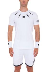 Футболка мужская Hydrogen Tech Storm White LTD  T00120-001