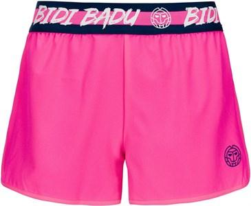 Шорты для девочек Bidi Badu Grey Tech (2 In 1) Pink/Dark Blue  G318009193-PKDBL