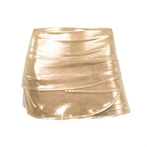 Юбка для девочек Lucky in Love Metallic Stripe Scallop Gold  B93-902  sp19