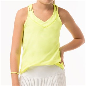 Майка для девочек Lucky in Love Entwine Racerback Neon Yellow  T201-710  su19