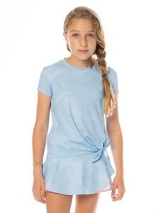 Футболка для девочек Lucky in Love Tie Knot Blue  T212-455  fa19