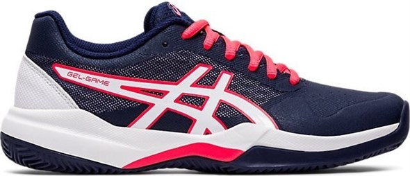 Кроссовки женские Asics GEL-GAME 7 Clay Peacoat/White  1042A038-405  sp20