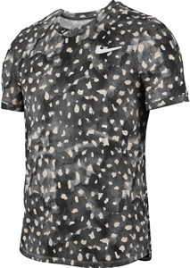 Футболка мужская Nike Court Challenger Melbourne Gridiron/White  CK4774-015  sp20