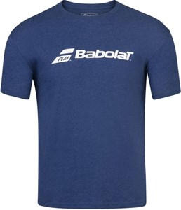 Футболка мужская Babolat Exercise Estate Blue Heather  4MP1441-4005